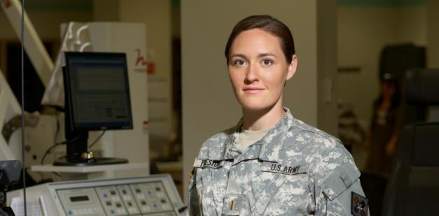 Army AMEDD physical therapist