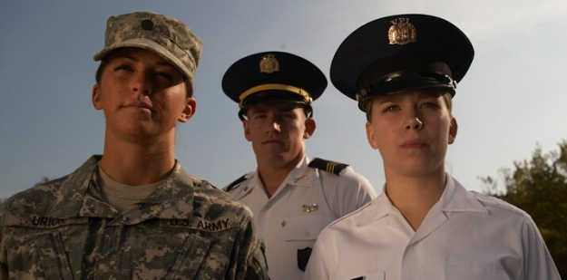 Virginia Tech ROTC Cadets