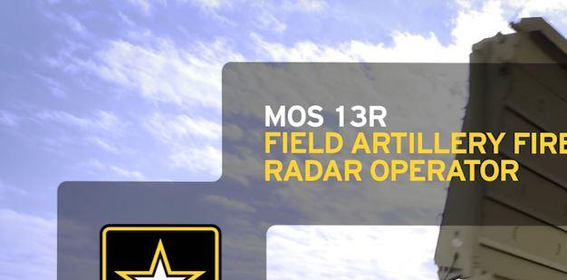 U.S. Army Field Artillery Sergeant Sibert verifying adjustments