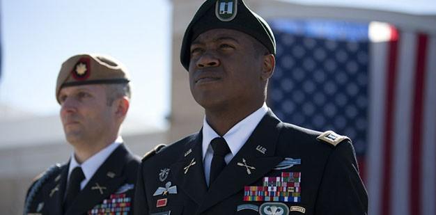 Army SF Officer Capt Benander