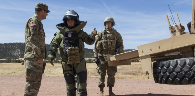 Army Explosive Ordnance Disposal (EOD) Soldiers