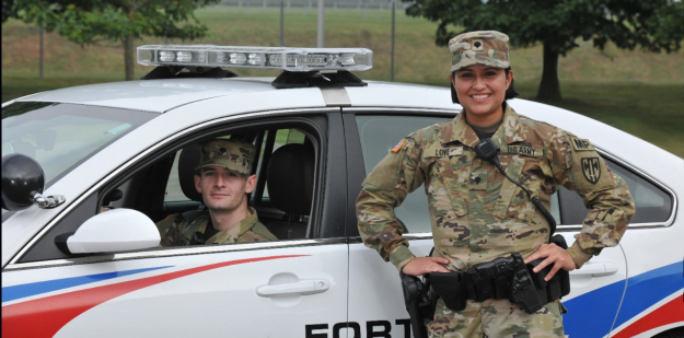 U.S. Army Military Police Officers