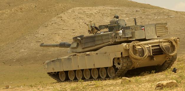 Army M1A1 Abrams Tank