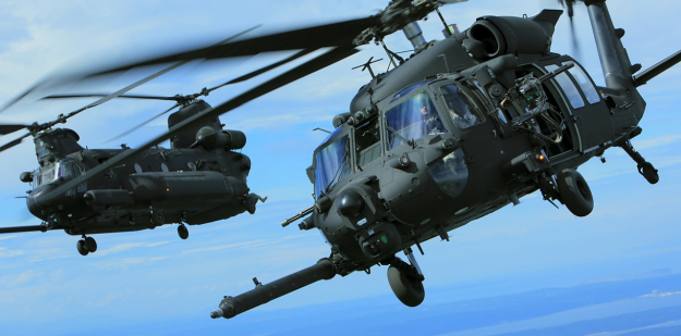 Black Hawk and Chinook helicopters used by Special Operations Soldiers | Special Operations Aviation Regiment (SOAR)