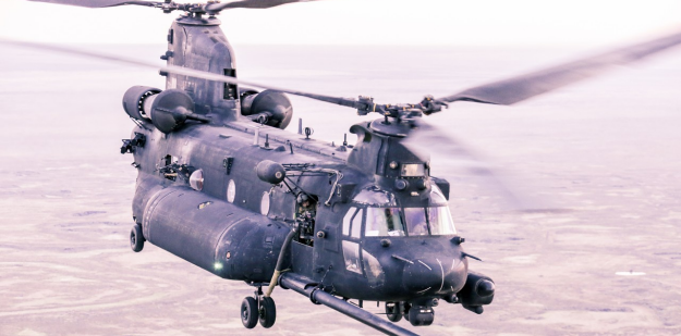 Chinook on a combat mission | SOAR Special Operations Aviation Regiment