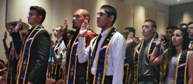 Enlistment Ceremony