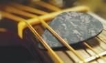 Camo guitar pick