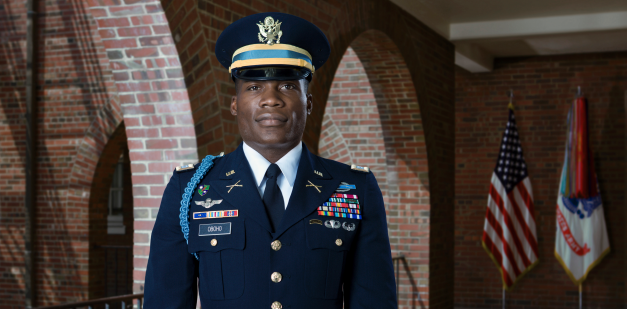 Army Infantry Officer Captain Oboho